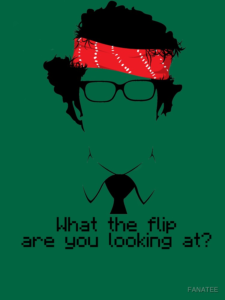 TShirtGifter presents: What The Flip Are You Looking At? | Unisex T-Shirt