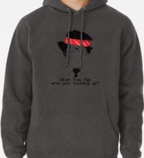 What The Flip Are You Looking At? Pullover Hoodie