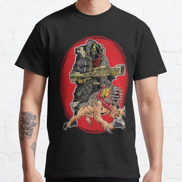 FL4K The Beastmaster With Guard Skag Borderlands 3 Rakk Attack! Classic T-Shirt