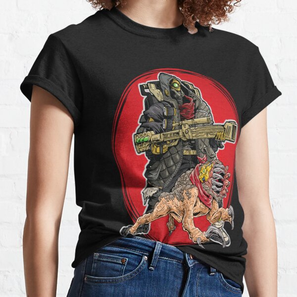 FL4K The Beastmaster With Guard Skag Borderlands 3 Rakk Attack! Classic T-Shirt