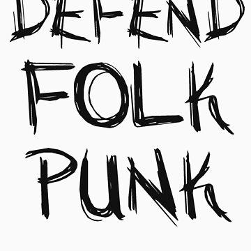 Defend Folk Punk by cassieh95