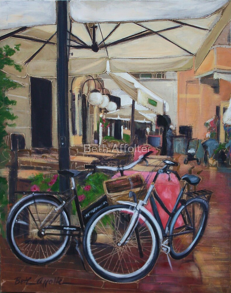 Italian Bicycles by Beth Affolter