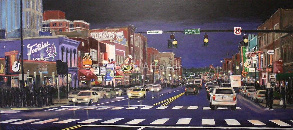 Music City Lights by Beth Affolter
