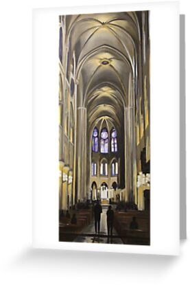 Notre Dame by Beth Affolter