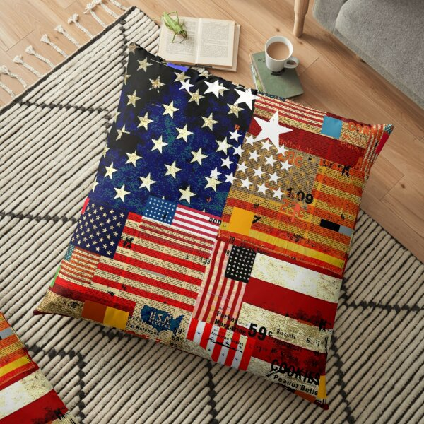 AMERICAN FLAG Floor Pillow
