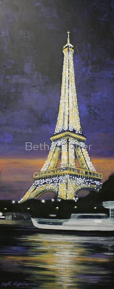 Paris Cruise by Beth Affolter