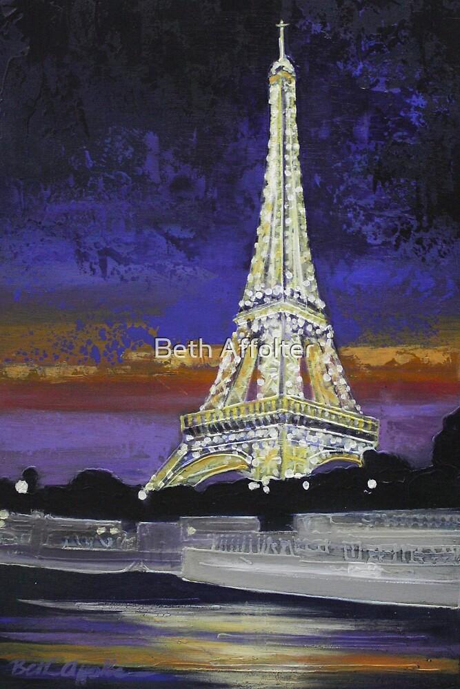 Eiffel Tower by Beth Affolter