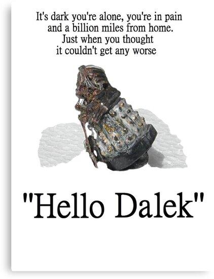Hello Dalek by Radwulf