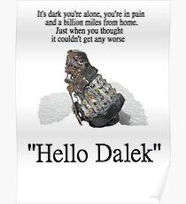 Hello Dalek Poster
