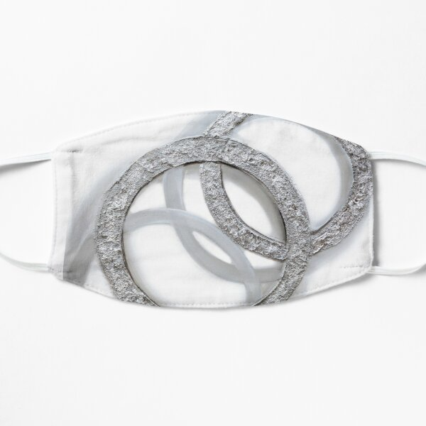 Silver Circles Mask