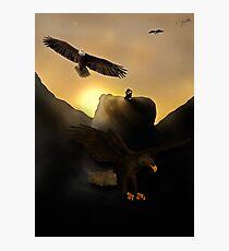 The Hug | Thorin Oakenshield and Bilbo Baggins Photographic Print