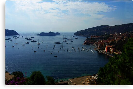 Villefranche  Bay by Tom Gomez
