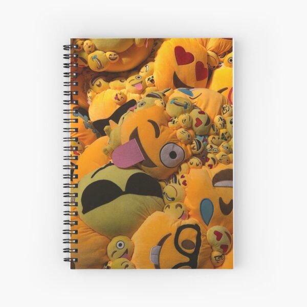 Overemotional (series) Spiral Notebook