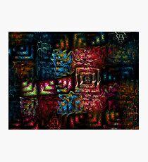 Crochet Photographic Print