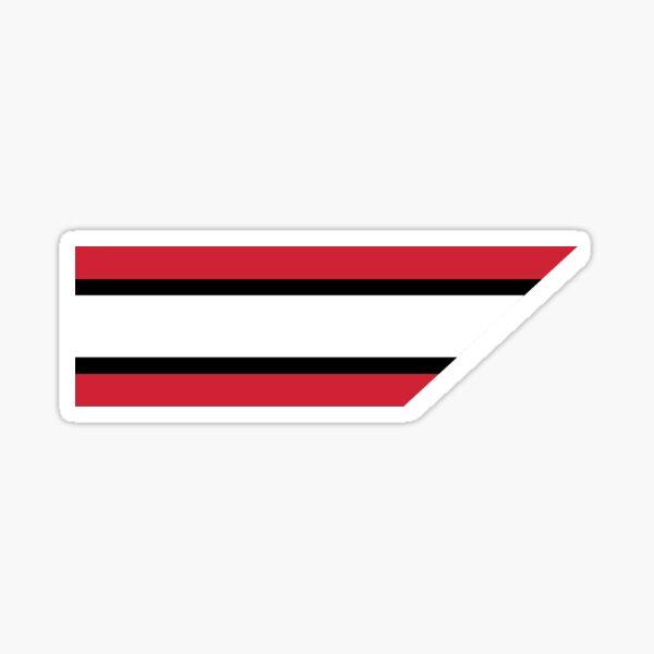 Ottawa Senators Stripe Sticker
