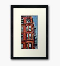 Detroit Loft Framed Print