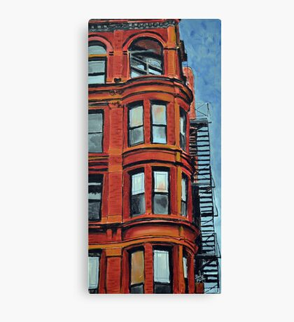 Detroit Loft Canvas Print