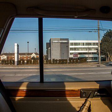 Backseat View by Woodsmen