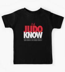 Judo Know Kids Clothes