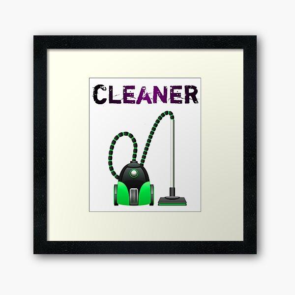 Vacuum cleaner - Gift For Cleaner  Framed Art Print
