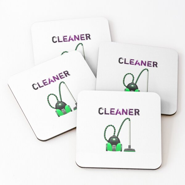 Vacuum cleaner - Gift For Cleaner  Coasters (Set of 4)
