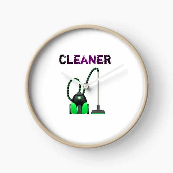 Vacuum cleaner - Gift For Cleaner  Clock