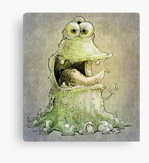 hello three eyes ... Canvas Print