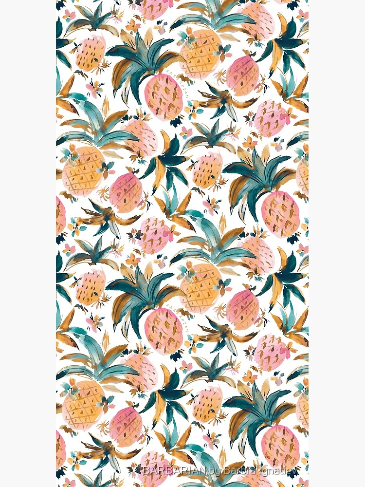 PINEAPPLE DANCE Pink Pineapples by Barbarian