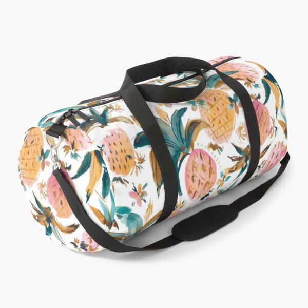 PINEAPPLE DANCE Pink Pineapples Duffle Bag