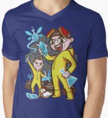 The Legend of Heisenberg Men's V-Neck T-Shirt