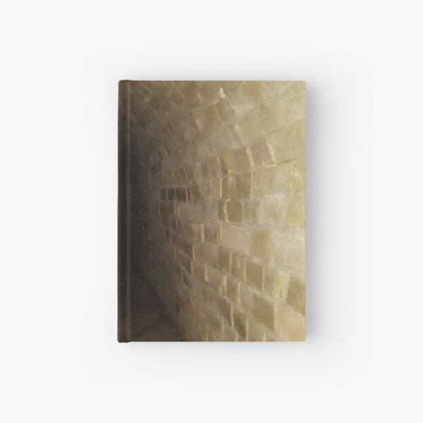Canal tunnel, Darkness Hardcover Journal