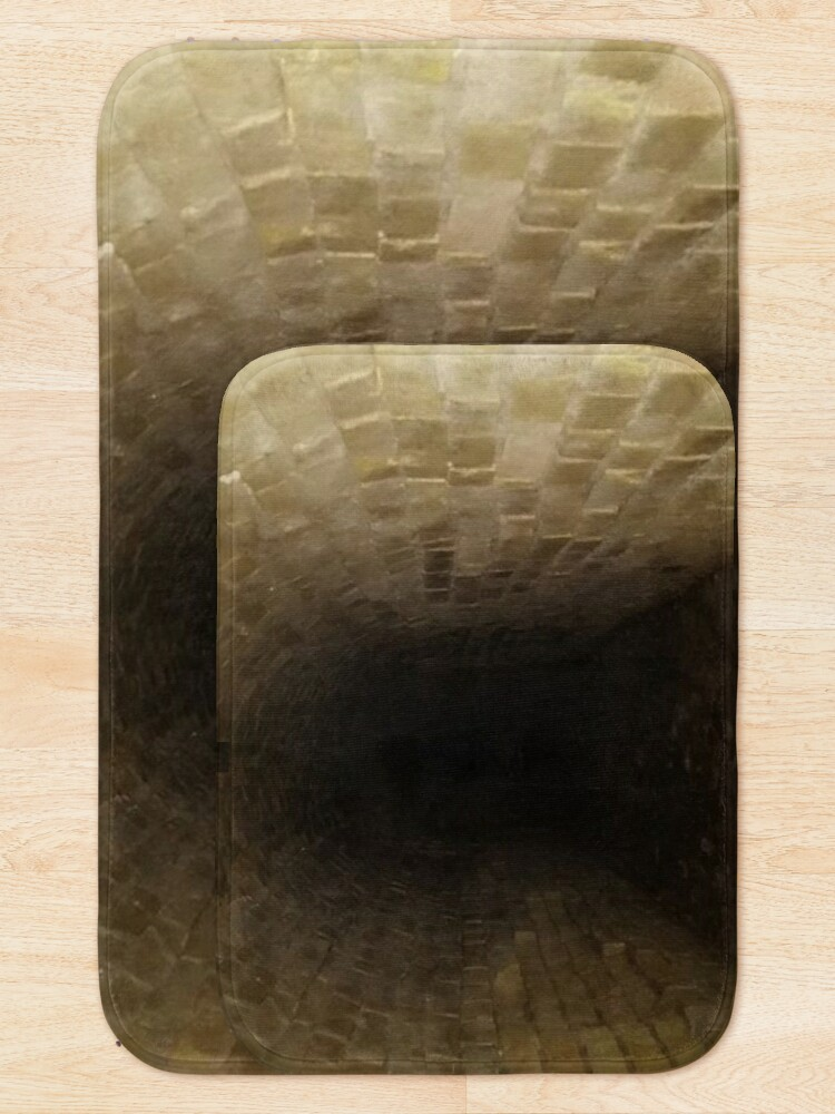 Alternate view of Canal tunnel, Darkness Bath Mat