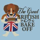 The Great British Bake Off Beagle Edition by Steampunkd