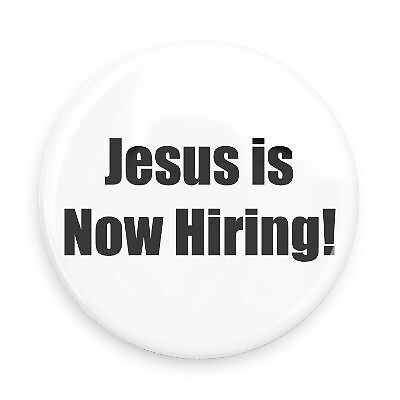 Jesus is Hiring by demar81
