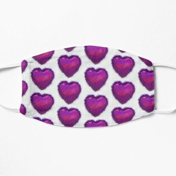 Purple Heart Flat Mask