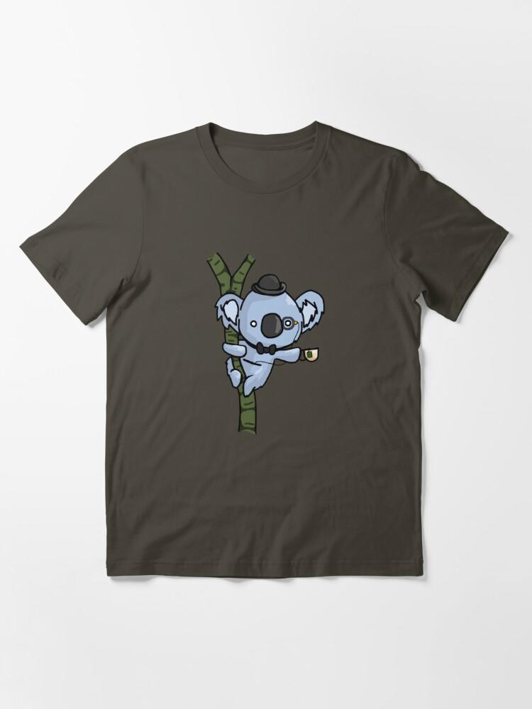 Vista alternativa de Camiseta esencial Koala con clase