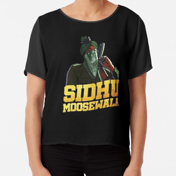 sidhu moose wala Chiffon Top