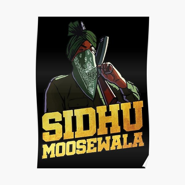 sidhu moose wala Poster