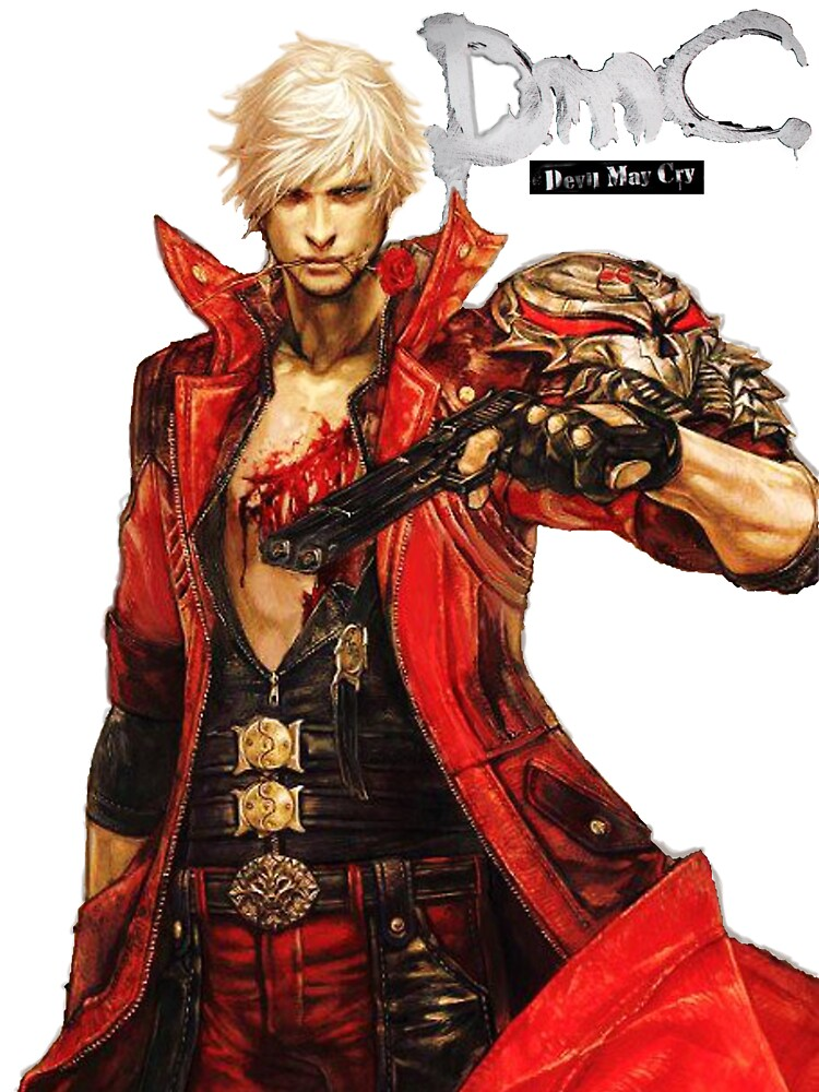 Dante with Red Rose by TheCopperKid