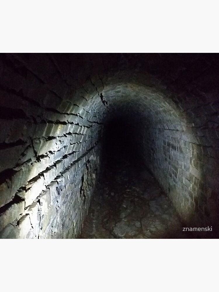 Canal tunnel, Darkness by znamenski