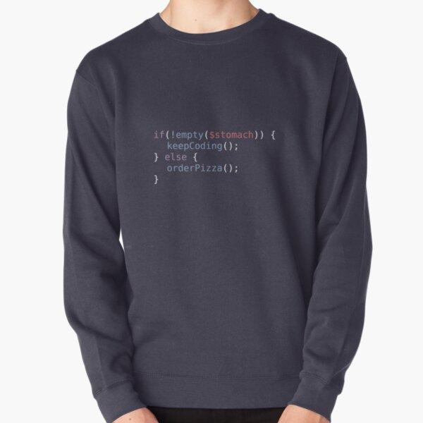 Hungry Coder Pullover Sweatshirt