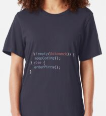 Hungry Coder Slim Fit T-Shirt