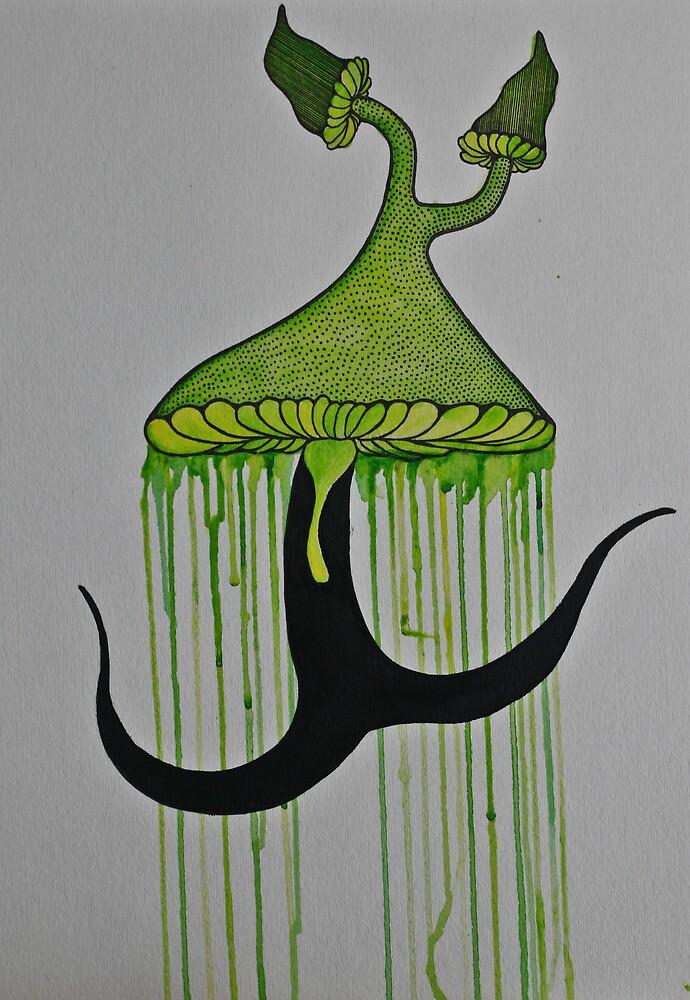 """Psychedelic Mushroom's"" Series 1-3 by ZAPcreativity"