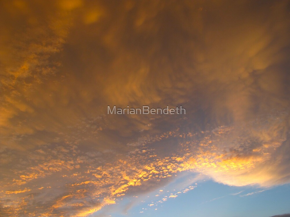 Fairy dust clouds by MarianBendeth