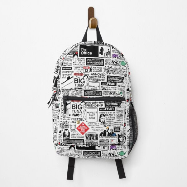 Wise Words From The Office - The Office Quotes (Variant) Backpack
