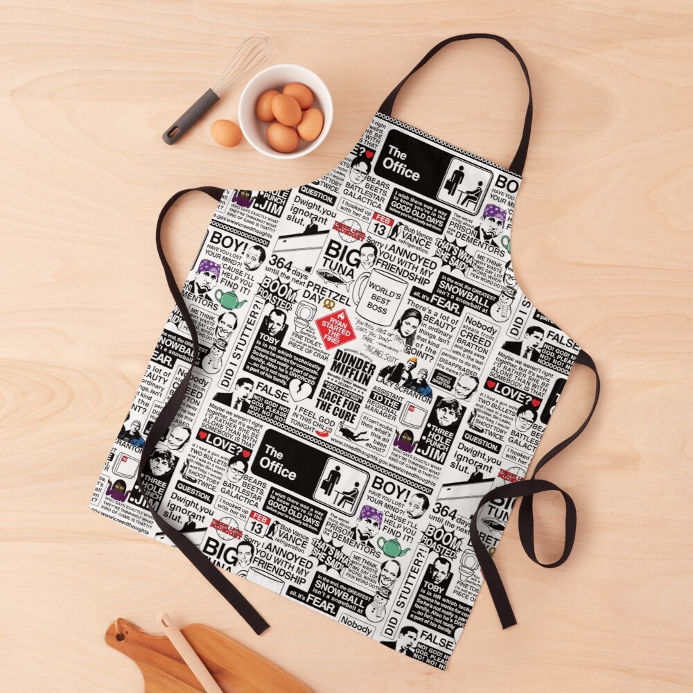 Wise Words From The Office - The Office Quotes (Variant) Apron