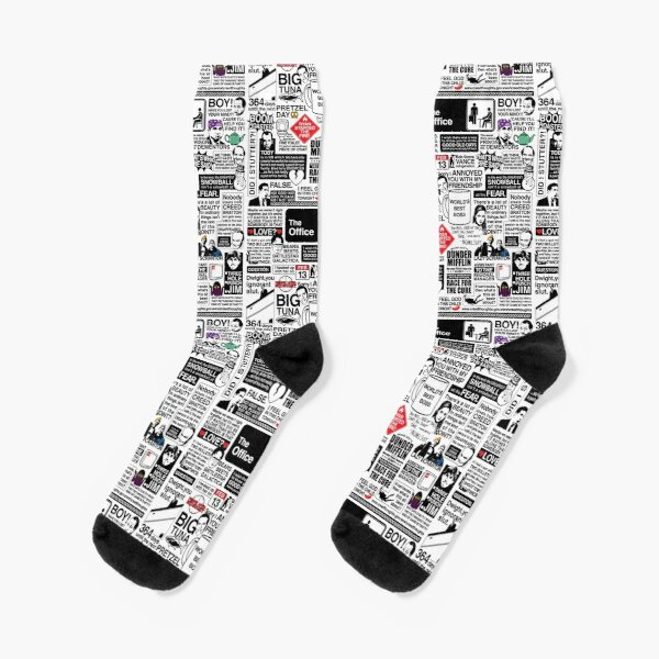Wise Words From The Office - The Office Quotes (Variant) Socks