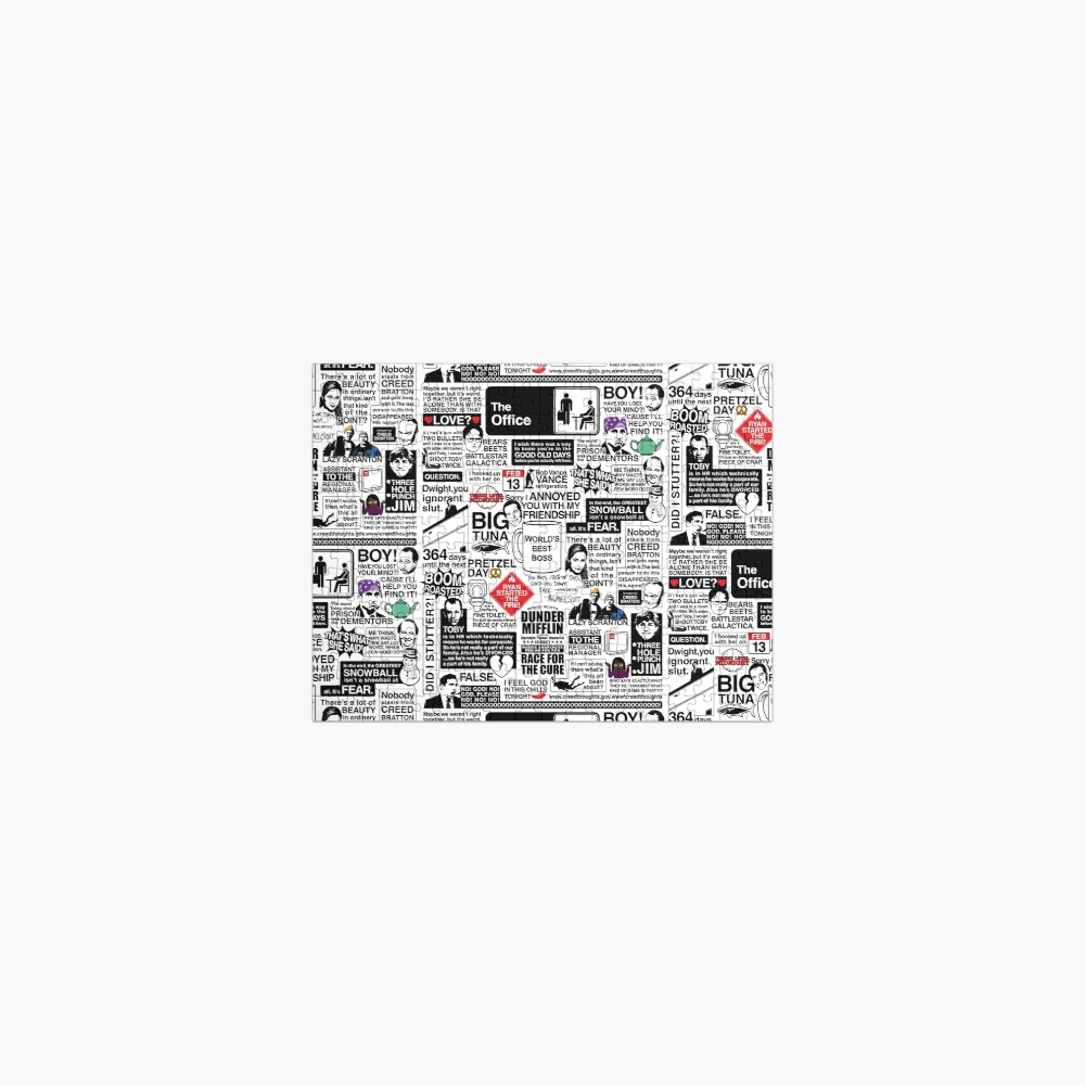 Wise Words From The Office - The Office Quotes (Variant) Jigsaw Puzzle