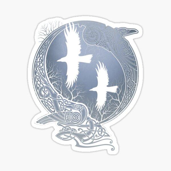 ODIN'S RAVENS Sticker