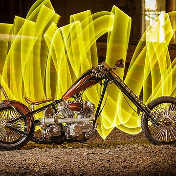 Buster's Custom Harley Chopper by HoskingInd